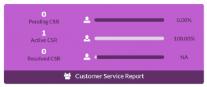 Customer Service Tracker
