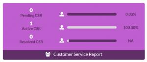 Customer Service Tracker